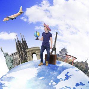 世界旅行のイメージ