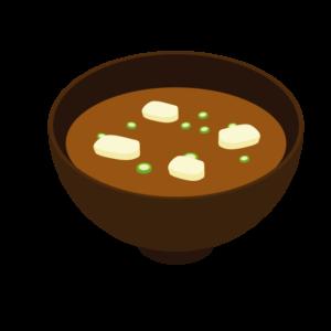 みそ汁のイラスト