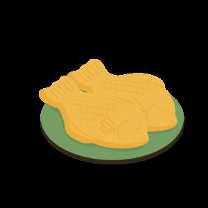 たい焼きのイラスト