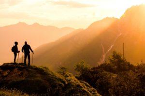 山登りのイメージ